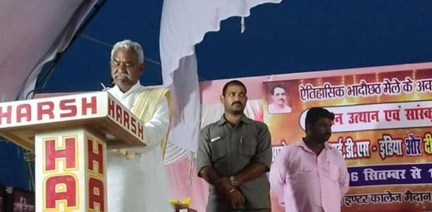 राज्य मंत्री स्वतंत्र प्रभार- श्री राम चौहान ने जौनपुर मंडी का निरीक्षण किया