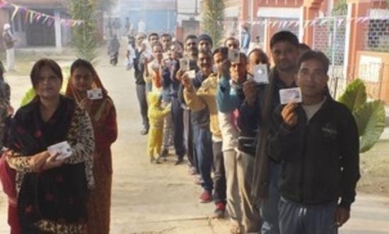 झारखंड विस चुनाव: प्रथम चरण में दोपहर एक बजे तक 46.83 प्रतिशत मतदान