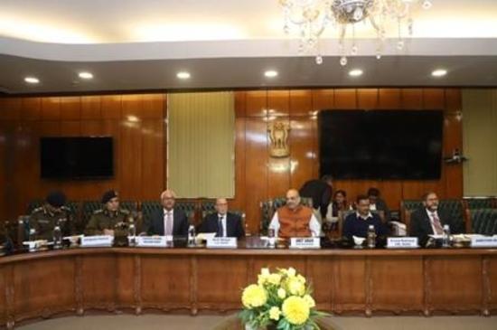 केंद्रीय गृह मंत्री ने आज दिल्ली की स्थिति पर मुख्य राजनीतिक दलों के प्रतिनिधियों और वरिष्ठ अधिकारियों के साथ बैठक की: गृह मंत्रालय