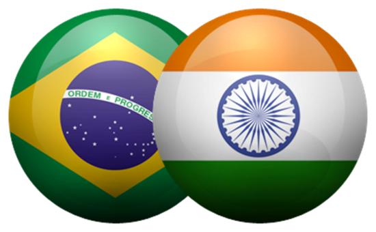 भारत-ब्राजील ने 2022 तक 15 बिलियन अमरीकी डालर का व्यापार लक्ष्य रखा