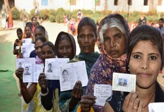 झारखंड विधानसभा चुनाव के दूसरे चरण में 64.84 प्रतिशत मतदान